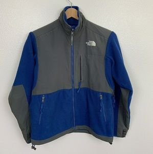The North Face Woman Jacket Blue Gray Sz: S